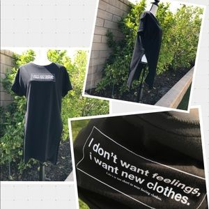 Zara▫️Graphic T-Shirt Dress